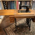 Conley Church sewing machine