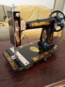 Raymond Sewing Machine, New Raymond High Arm produced circa 1905