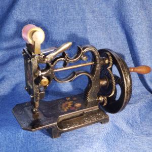 Raymond Sewing machine, New England Chain stitch from 1858